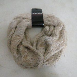 Steve Madden Cowl Infinity Scarf Ivy NWT